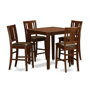 5 Piece Counter Height Pub Table Set Top Reviews