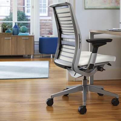 Think® Leather Executive Chair & Steelcase Think® 3D Mesh Desk Chair u0026 Reviews | Wayfair