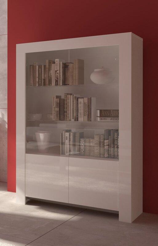 wildon home vitrine max mit beleuchtung. Black Bedroom Furniture Sets. Home Design Ideas