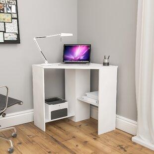 Corner Desk With Printer Shelf Wayfair Co Uk