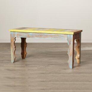 Tetouan Wood Dining Bench by Latitude Vive