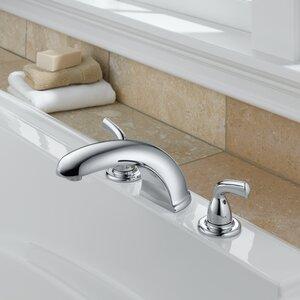 Foundations Double Handle Deck Mount Roman Tub Faucet Trim