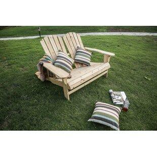 Genial Melcher Wood Adirondack Chair