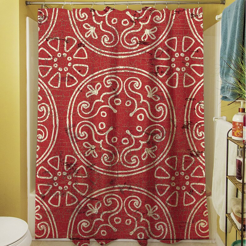 Theo Medallion Shower Curtain