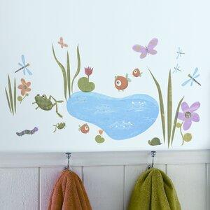 Studio Designs 40 Piece Hoppy Pond Wall Decal
