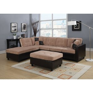 Milano Reversible Sectional by ACME Furniture