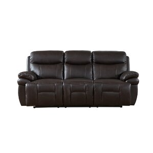 Rushmore 3 Piece Leather Living Room Set by Amax