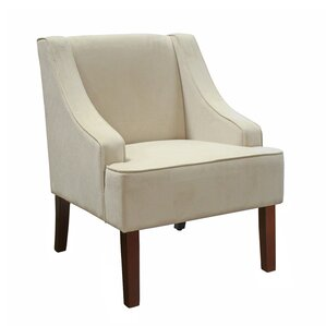 Donnellson Swoop Armchair by Charlton Home