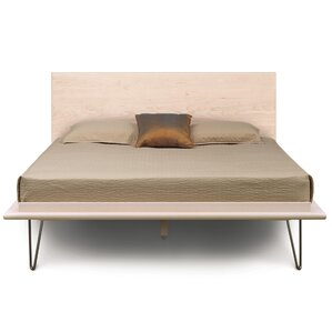 Canvas Platform Bed by Copeland Furniture