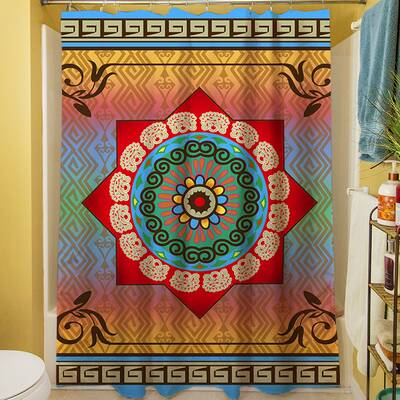 Mexican Summer Shower Curtain