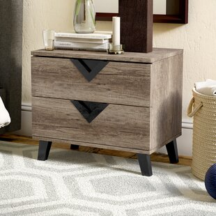 Rotterdam 2 Drawer Nightstand