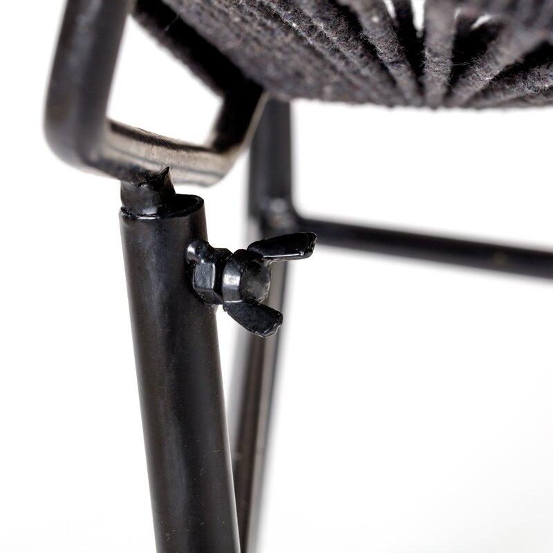 1ae34b6384844 Bungalow Rose Mcentee Jute Rope Accent Papasan Chair | Wayfair