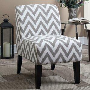 Awesome Janae Chevron Slipper Chair