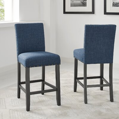Full Back Bar Stools You Ll Love Wayfair