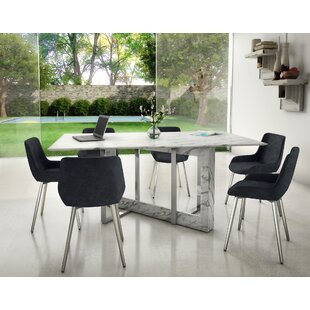 bruck contemporary 7 piece dining set - Contemporary Dining Room Tables