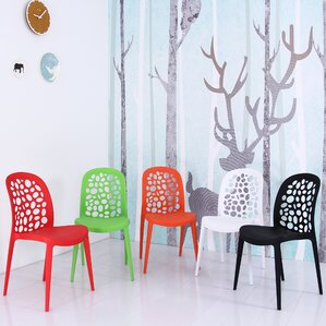 Plastic Side Chair (Set of 4) by Container