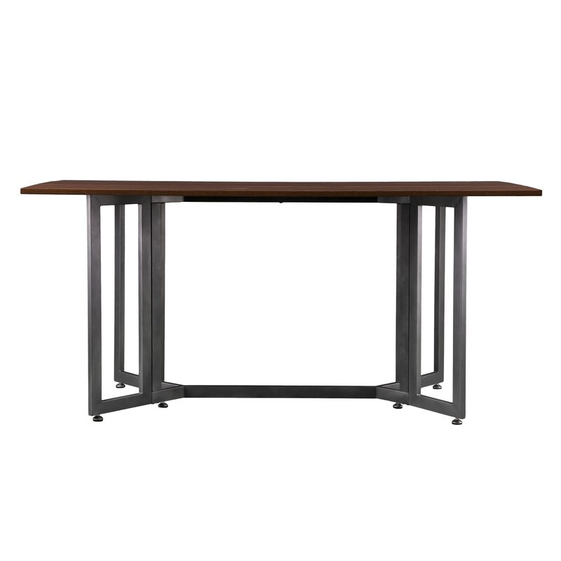 4f2e8f7017f2 Eleanora Drop Leaf Console to Dining Table