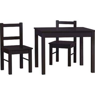 Elegant Suri Kidsu0027 3 Piece Rectangle Table And Chair Set