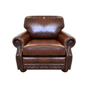 Middleton Genuine Top Grain Leather Club Cha..