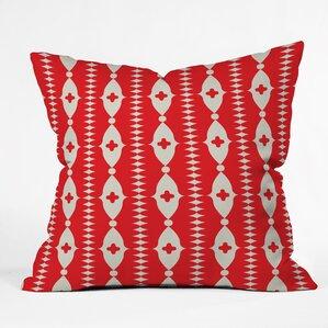 Elegant Ribbon Indoor/Outdoor Throw Pillow