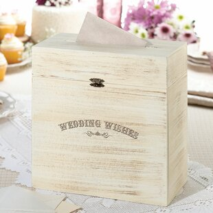 Wedding Card Boxes You\'ll Love | Wayfair