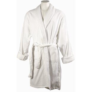 fc5b8c0774 Men s 100% Cotton Terry Cloth Bathrobe