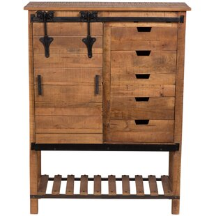 Barn Door Tall 5 Drawer Accent Cabinet  sc 1 st  Wayfair & Tall Cabinet With Drawers | Wayfair