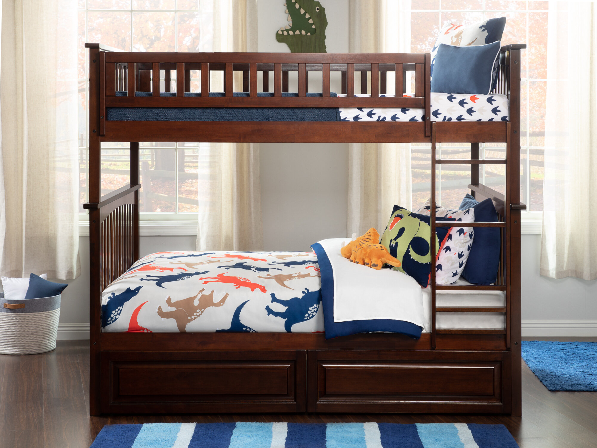 1e4c919169d Viv + Rae Henry Bunk Bed with Storage   Reviews