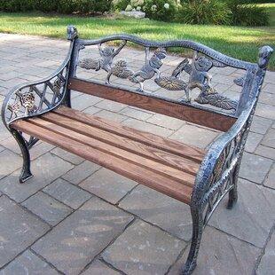 Merveilleux Cast Iron Garden Bench | Wayfair
