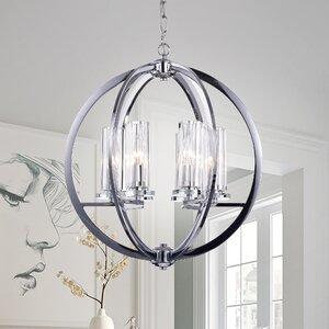 Nithya 6-Light Globe Pendant