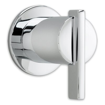 Berwick On/off Volume Control Shower Faucet Trim With Lever Handle American Standard Color: Polished Chrome