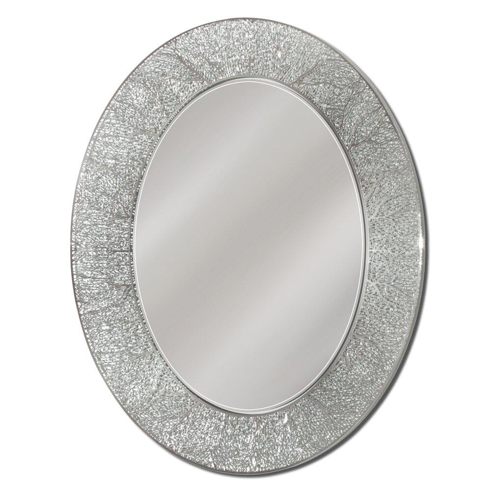 House of Hampton Danette Coral Oval Bathroom/Vanity Mirror & Reviews ...
