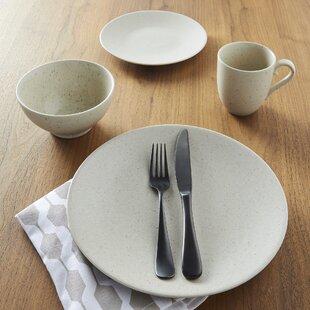 Oatmeal 16 Piece Dinnerware Set & Dinnerware Sets u0026 Place Settings | Birch Lane