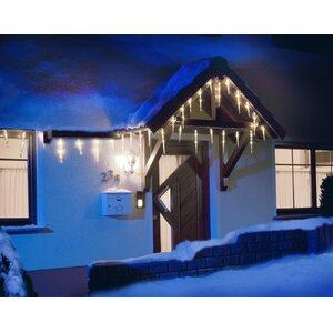 LED-Eiszapfen Lichtervorhang