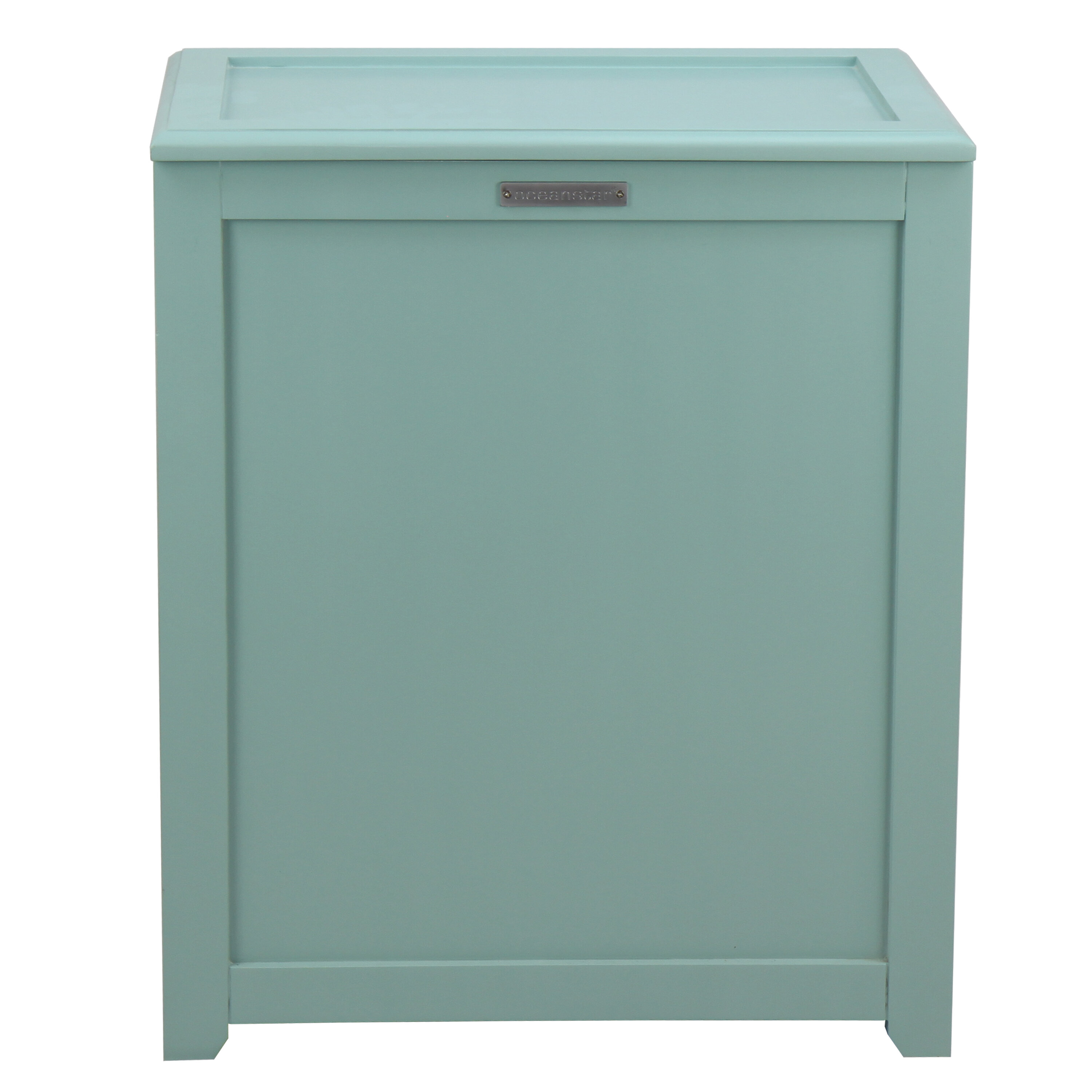 Tall Linen Cabinet With Hamper | Wayfair