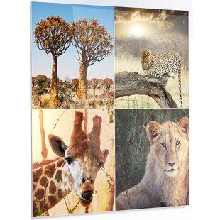 Greatest African Safari Wall Art | Wayfair PC32