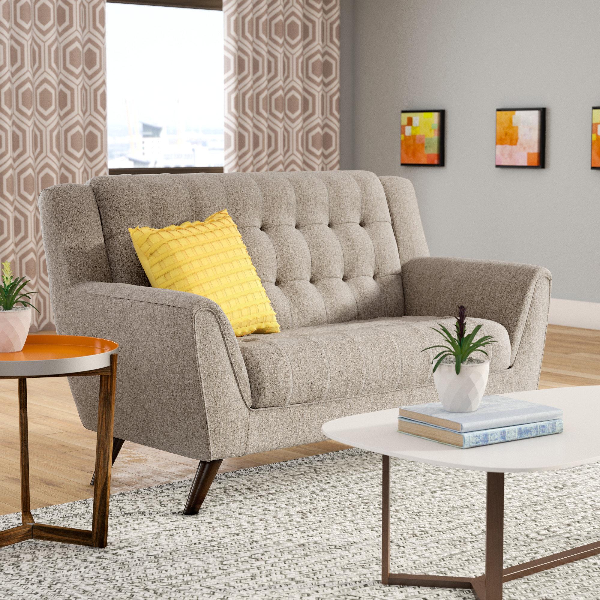 Modern Chenille Sofas Couches Allmodern