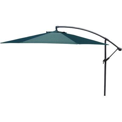 Brayden Studio Trotman 10' Cantilever Umbrella Fabric: Green