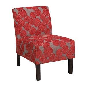 Slipper Chair by WorldWide HomeFurnish..