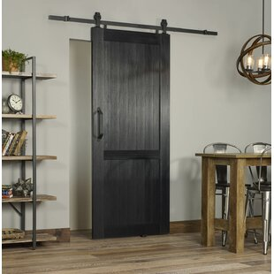 Beau Millbrooke PVC Hollow Panelled Plastic Interior Barn Door