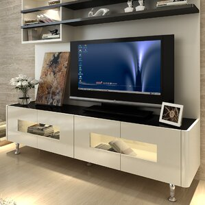 Modern Furniture Entertainment Center modern & contemporary entertainment centers you'll love | wayfair