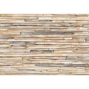 Whitewashed Wood 2 54m X 368m Wallpaper Roll