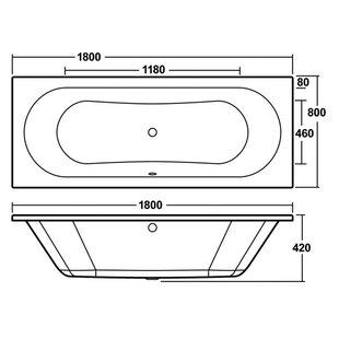 Otley Round Standard Soaking Bathtub by Premier