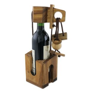 Mckissick Dont Break Tabletop Wine Bottle Rack