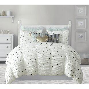 Cutrer Dots Comforter Set