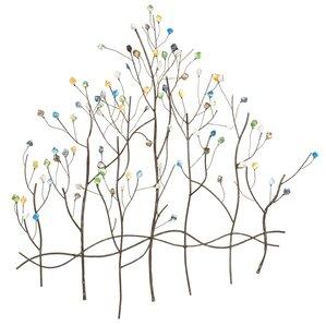 Metal Wall Art Tree tree & nature metal wall art you'll love   wayfair