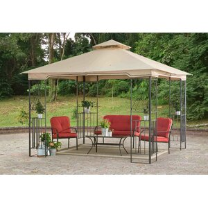 Marshall 10 Ft. W x 10 Ft. D Metal Permanent Gazebo