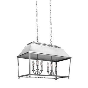 Darwin 6-Light Billiard Light