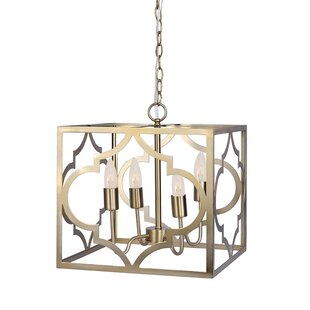 ad9119f9af59 Gold Square   Rectangular Chandeliers You ll Love