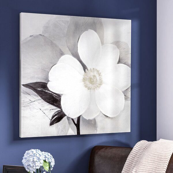 Midday Bloom Painting Print On Wrapped Canvas